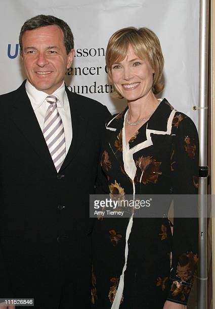 Robert Iger President CEO The Walt Disney Company and his wife Willow Bay