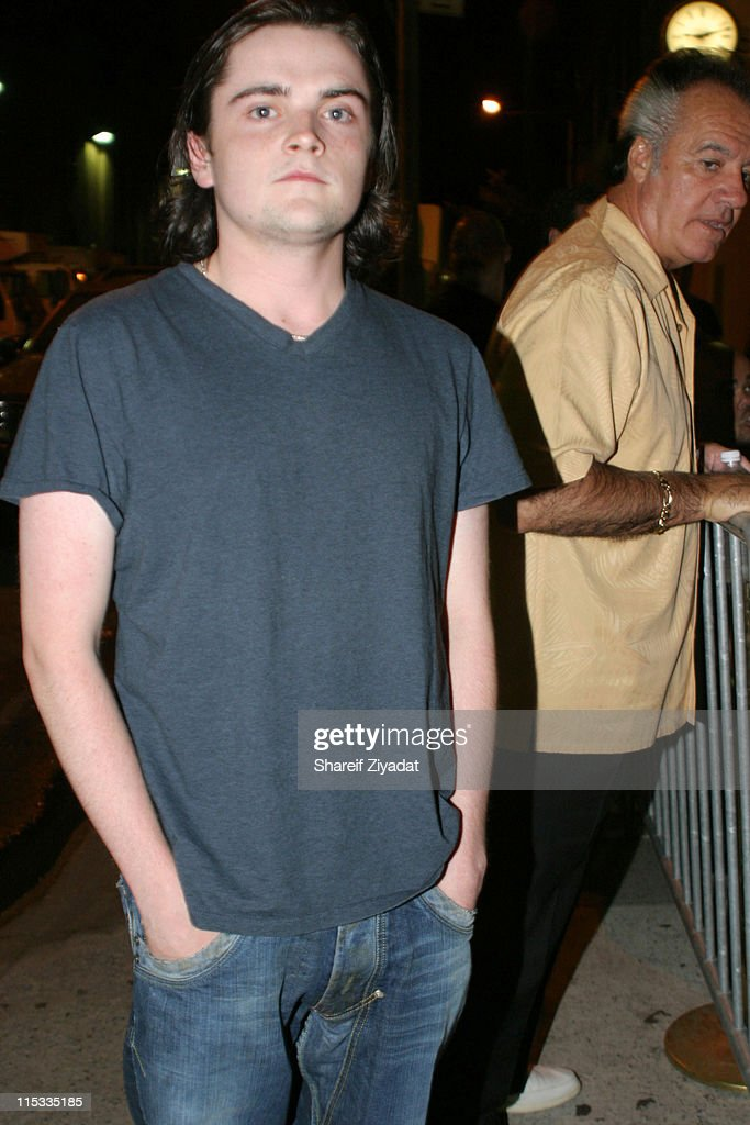 Robert Iler during The Cast of 'The Sopranos' Sighting at GLO in New York City - August 7, 2005 at GLO in New York City, New York, United States.