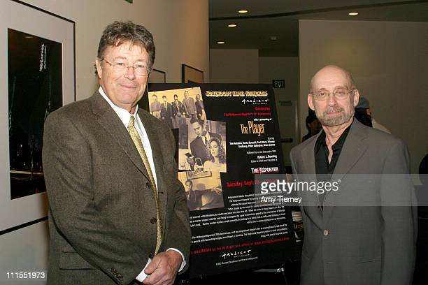 Robert J Dowling Editor in Chief and Publisher The Hollywood Reporter and DirectorArthur Allan Seidelman