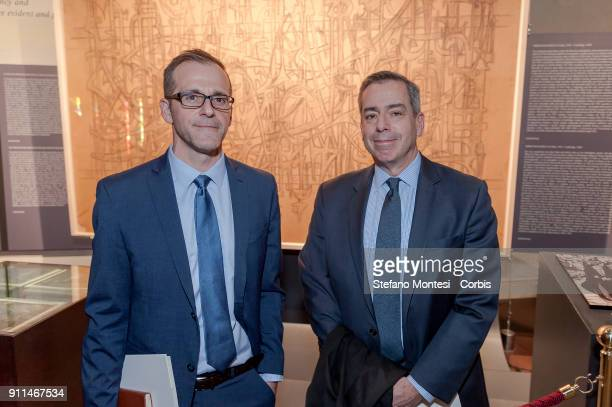 Robert J Williams Deputy Director International Affairs at United States Holocaust Memorial Museum and Mark Weitzman Director of Government Affairs...
