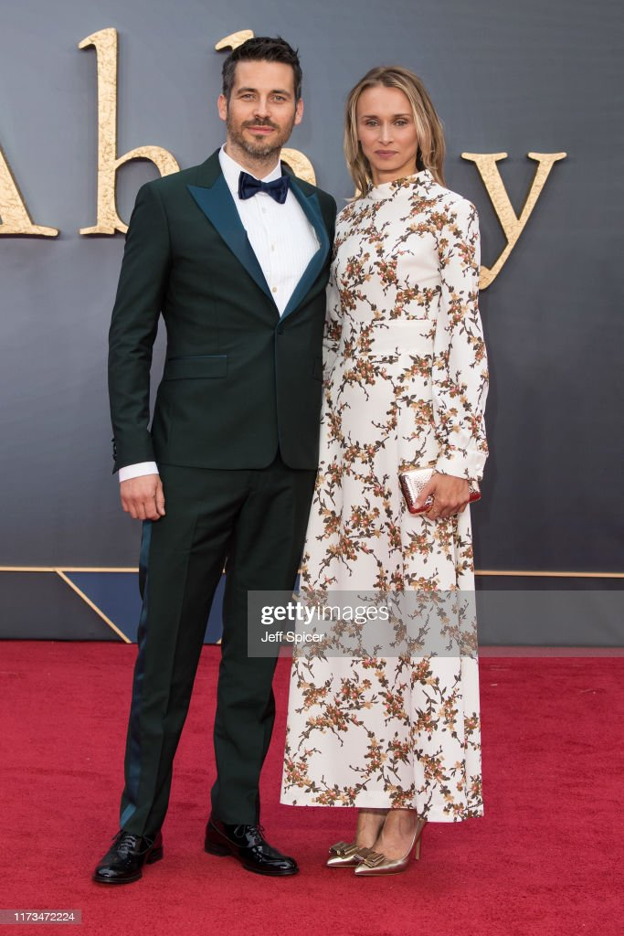 Robert James Collier And Lauren Chandiram Attend The Downton Abbey News Photo Getty Images