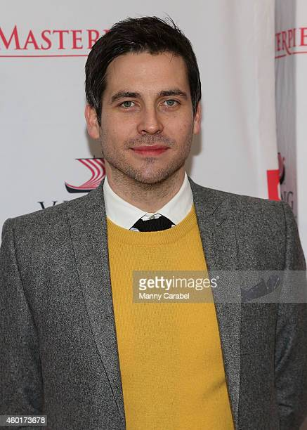 Robert JamesCollier attends Downton Abbey's Season Five Cast Photo Call at Millenium Hotel on December 8 2014 in New York City