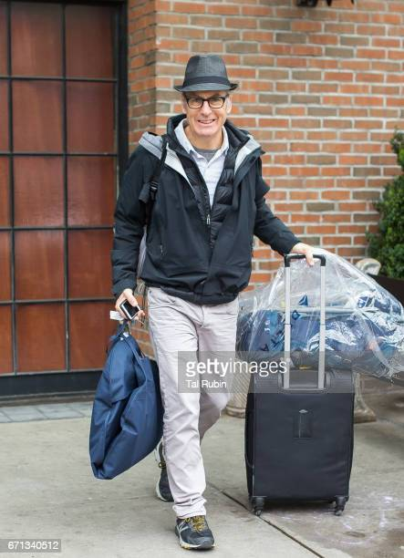 Robert John 'Bob' Odenkirk is seen leaving Bowery Hotel on April 21 2017 in New York City