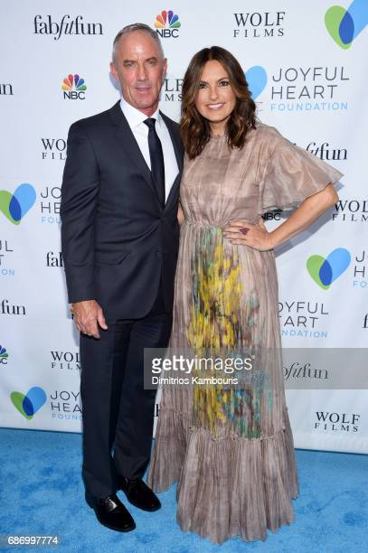 Robert John Burke and Mariska Hargitay attend The Joyful Revolution Gala In New York City hosted by Mariska Hargitay's Joyful Heart Foundation on May...