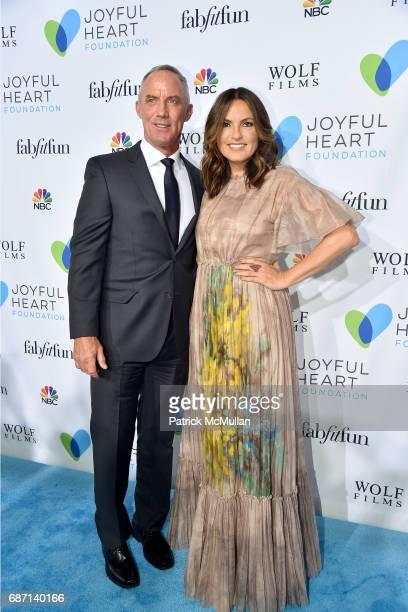 Robert John Burke and Mariska Hargitay attend the Joyful Revolution Gala hosted by Mariska Hargitay's Joyful Heart Foundation at Spring Studios on...
