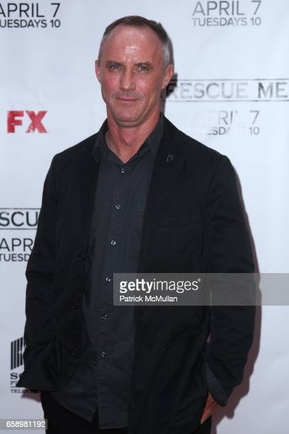 Robert John Burke attends RESCUE ME Premiere Event at Radio City Music Hall at Radio City Music Hall on April 2 2009 in New York City