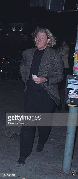 Robert John Mutt Lange husband and producer of the US singer Shania Twain attending a performance of Swan Lake at the Dominion Theatre in Londons...
