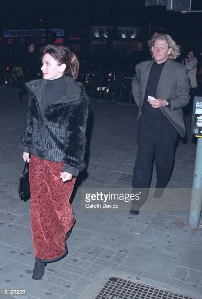 Robert John Mutt Lange husband and producer of the US singer Shania Twain attending a performance of Swan Lake at the Dominion Theatre in London West...