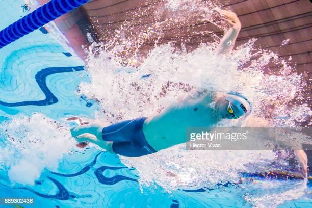 Robert Johnson of Iceland competes in men´s 100 m Butterfly S14 during day 7 of the Para Swimming World Championship Mexico City 2017 at Francisco...