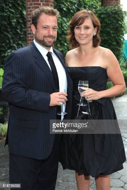 Robert Kane and Erin Kane attend Wildlife Conservation Society Spring 2010 Gala Flight of Fancy at Central Park Zoo on June 10 2010 in New York City