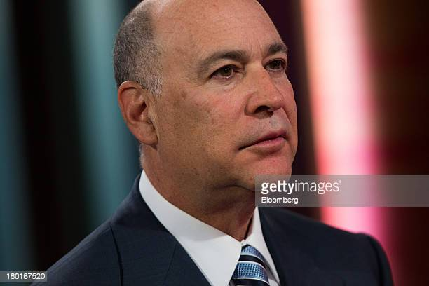 Robert Kapito president and cofounder of BlackRock Inc attends a Bloomberg Television interview in Hong Kong China on Tuesday Sept 10 2013 Emerging...