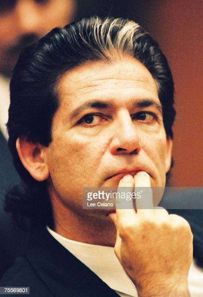 Robert Kardashian a close friend of OJ Simpson is shown during a preliminary hearing following the murders of Simpson's exwife Nicole Brown Simpson...
