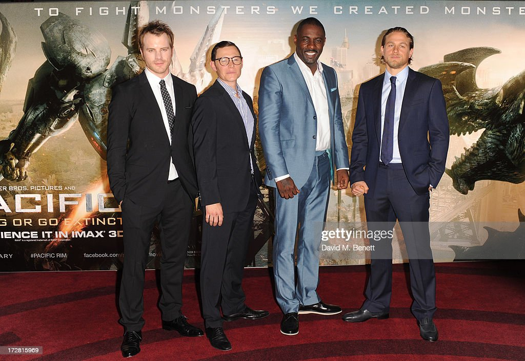 Pacific Rim - European Premiere - Inside Arrivals : News Photo