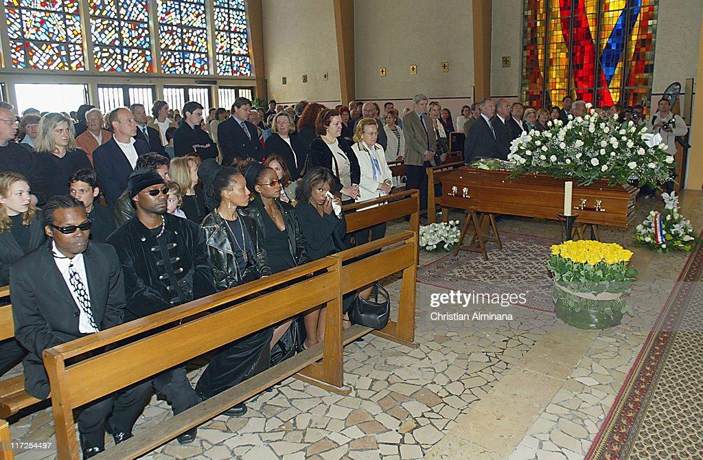 Nina Simone's Funeral In France - April 25, 2003 : News Photo