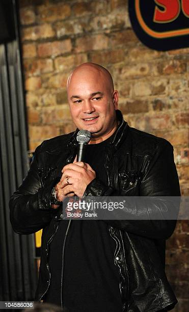 Robert Kelly performs at The Stress Factory Comedy Club on September 30, 2010 in New Brunswick, New Jersey.