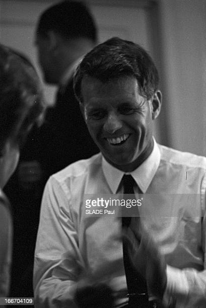 Robert Kennedy At The Convention In Atlanyic City New Jersey Atlantic City 27 Aout 1964 Lors de la convention des démocrates portrait de Robert...