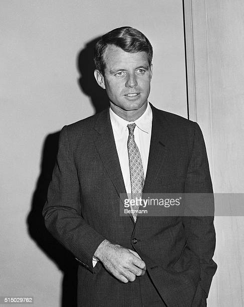 Robert Kennedy brother of John F Kennedy attorney general and US senator