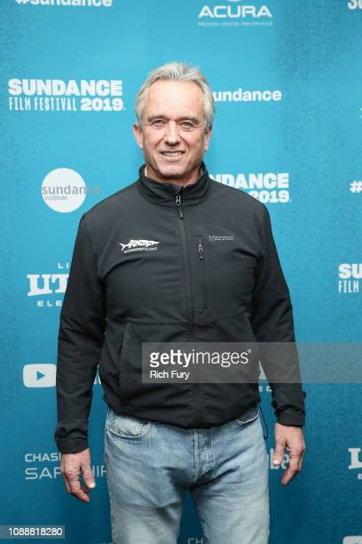 Robert Kennedy Jr attends the 'Anthropocene The Human Epoch' Premiere during the 2019 Sundance Film Festival at Temple Theater on January 25 2019 in...