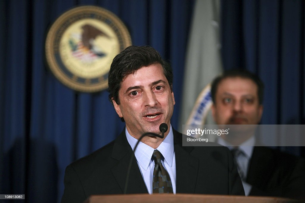Insider Trading Charges Announced Against Hedge Fund Managers : News Photo