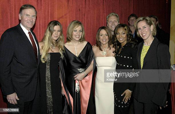 Robert Kimmitt executive vice president for global and strategic policy of Time Warner Inc Joss Stone Renee Fleming Patricia Heaton Ashanti and Holly...