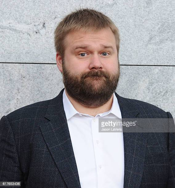 Robert Kirkman attends the live 90minute special edition of 'Talking Dead' at Hollywood Forever on October 23 2016 in Hollywood California