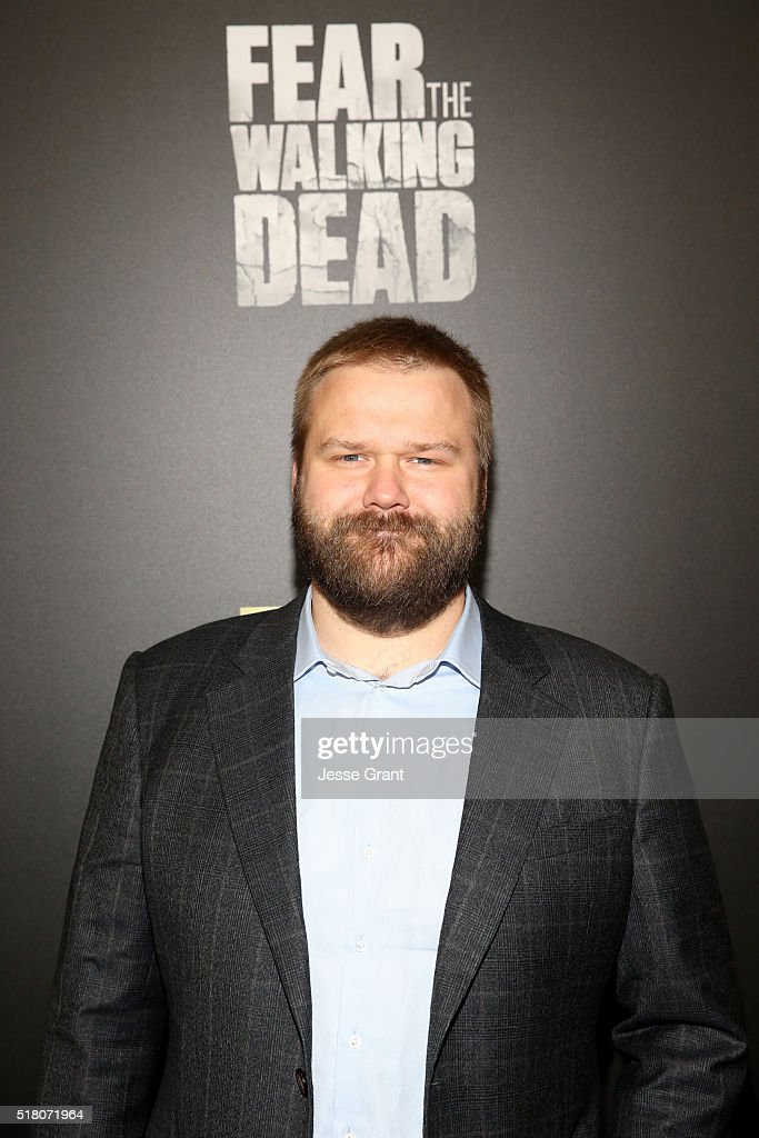 Robert Kirkman attends the season 2 premiere of 'Fear the Walking Dead' at Cinemark Playa Vista on March 29, 2016 in Los Angeles, California.