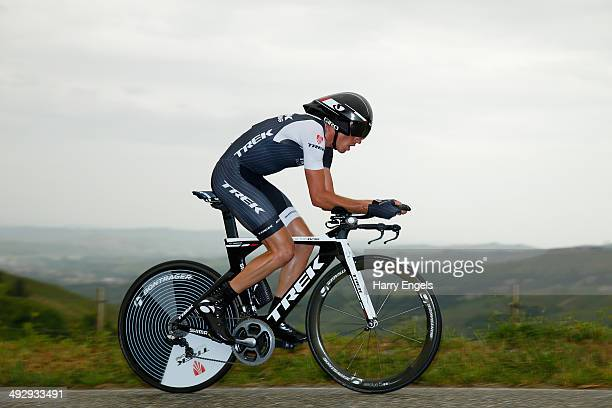 Robert Kiserlovski of Croatia and team Trek Factory Racing in action during the twelfth stage of the 2014 Giro d'Italia a 42km Individual Time Trial...