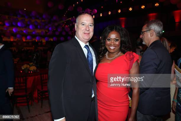 Robert Kissane and Angela Kissane attend the 2017 Ailey Spirit Gala at David H Koch Theater at Lincoln Center on June 15 2017 in New York City