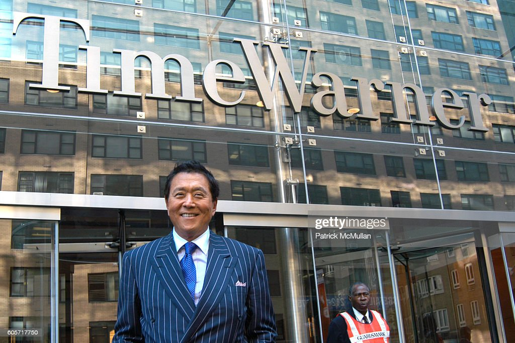 Robert Kiyosaki Attends Why We Want You To Be Rich Two Men One