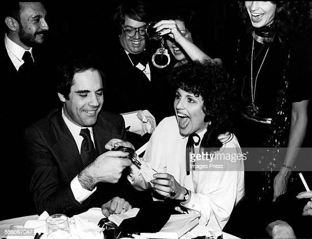 Robert Klein and Lucie Arnaz circa 1978 in New York City.