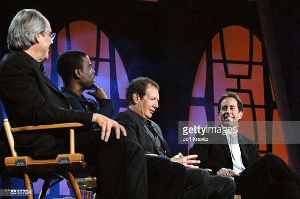 Robert Klein, Chris Rock, Garry Shandling and Jerry Seinfeld