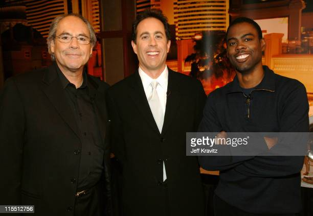 Robert Klein, Jerry Seinfeld and Chris Rock*exclusive*