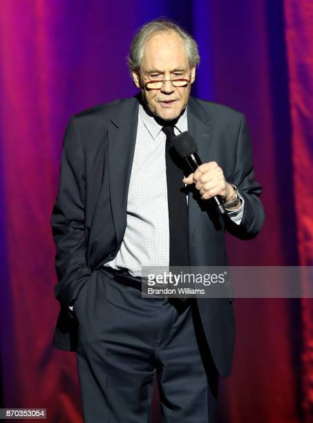 Robert Klein peforms onstage at the International Myeloma Foundation 11th Annual Comedy Celebration at The Wilshire Ebell Theatre on November 4 2017...
