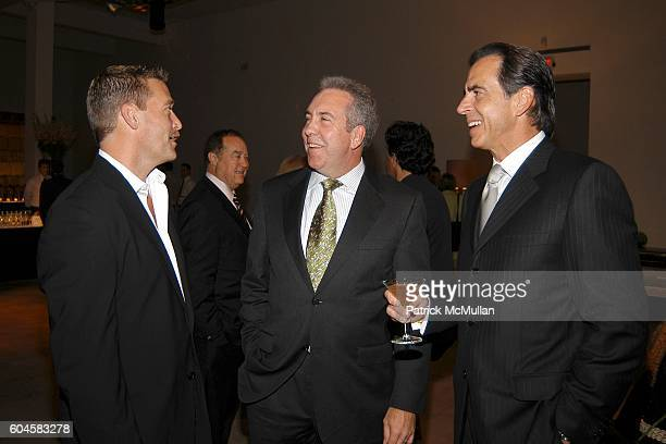 Robert Kling Cary Turner and Jay Jacobs attend Global Fusion Furniture Collection LOFT 21 by PIER 1 at Skylight Studios on June 27 2006 in New York...