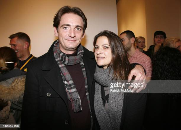 Robert Kloos and Elodie TrouchePerrin attend ERWIN OLAF Opening Reception at Hasted Hunt Kraeutler on January 28 2010 in New York