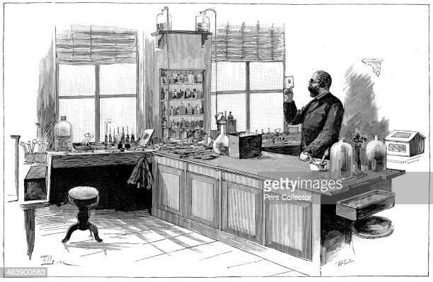 Robert Koch 18431910 German bacteriologist and physician in his laboratory In 1890 Koch introduced Tuberculin which he thought a cure for...