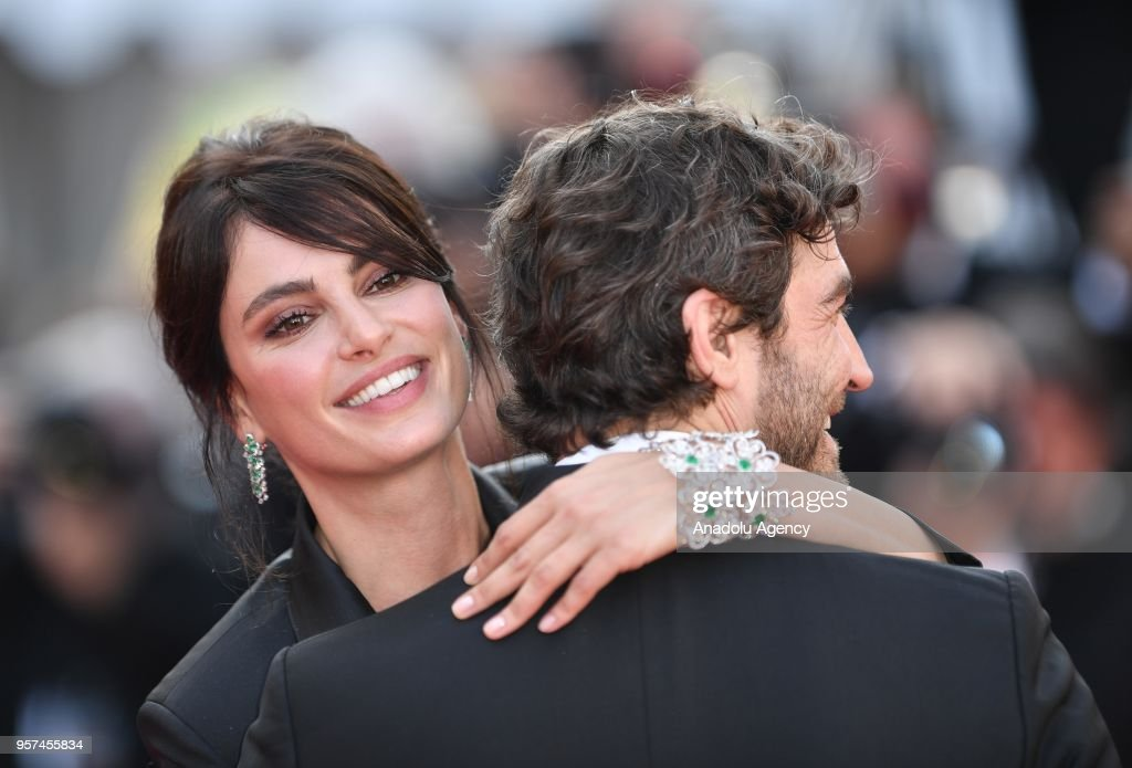 71st cannes film festival ash is purest white premiere pictures robert konjic r and catrinel menghia l greet each other ahead of m4hsunfo
