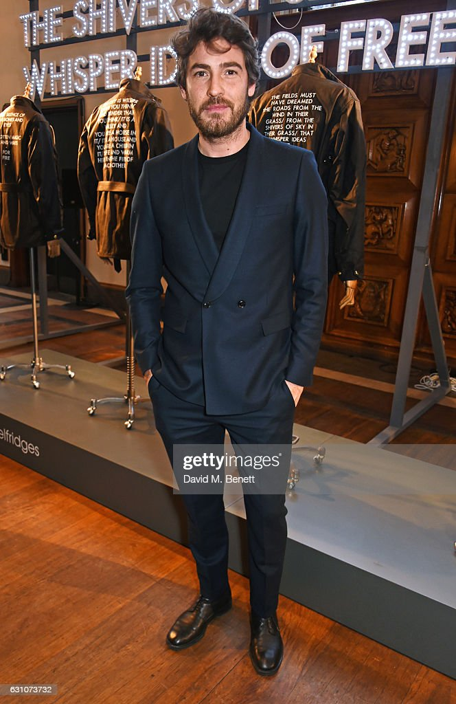 Robert Konjic attends the Barbour International presentation during London Fashion Week Men's January 2017 collections at RIBA on January 6, 2017 in London, England.
