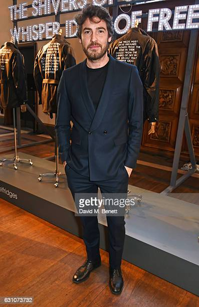 Robert Konjic attends the Barbour International presentation during London Fashion Week Men's January 2017 collections at RIBA on January 6 2017 in...