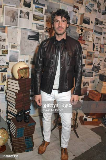 Robert Konjic attends the Belstaff presentation during London Fashion Week Men's June 2019 at the Hoxton Docks on June 9, 2019 in London, England.