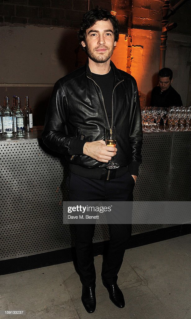 Robert Konjic attends the Jonathan Saunders, Fantastic Man and Selfridges London Collections: MEN AW13 dinner at The Old Selfridges Hotel on January 8, 2013 in London, England.