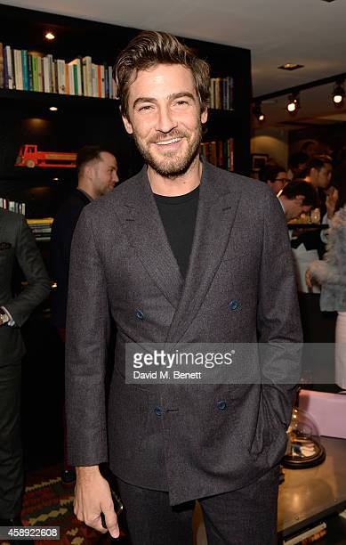 Robert Konjic attends the opening of the new Thom Sweeney RTW & MTM Store on November 13, 2014 in London, England.