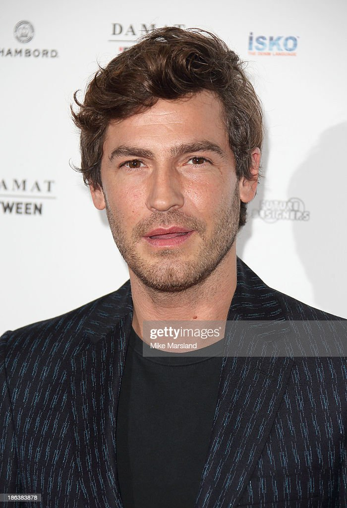 Robert Konjic attends the WGSN Global Fahsion awards at Victoria & Albert Museum on October 30, 2013 in London, England.