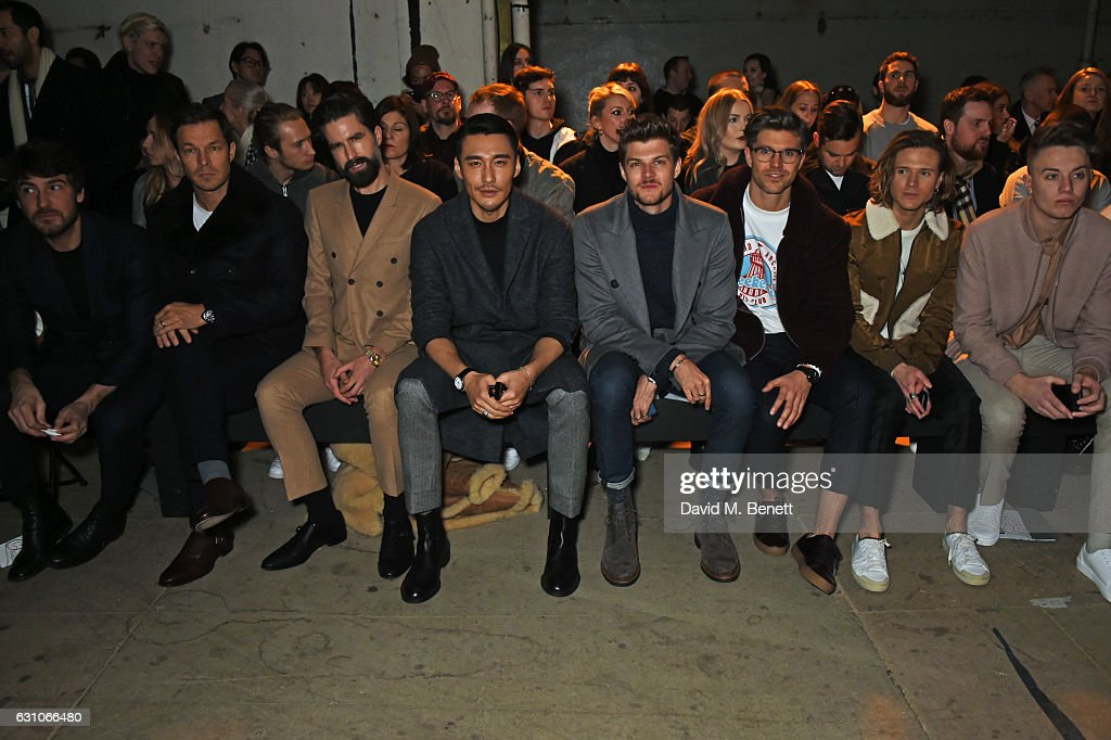 TOPMAN DESIGN - Front Row - LFW Men's January 2017