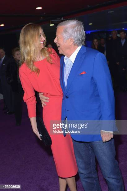 Robert Kraft and Ricki Noel Lander attend the 'The Wolf Of Wall Street' premiere after party at Roseland Ballroom on December 17 2013 in New York City