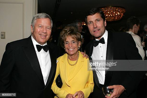 Robert Kraft Myra Kraft and Stephen Burke attend Museum of the Moving Image Honors George Bodenheimer and Stephen Burke at Grand Ballroom on May 4...