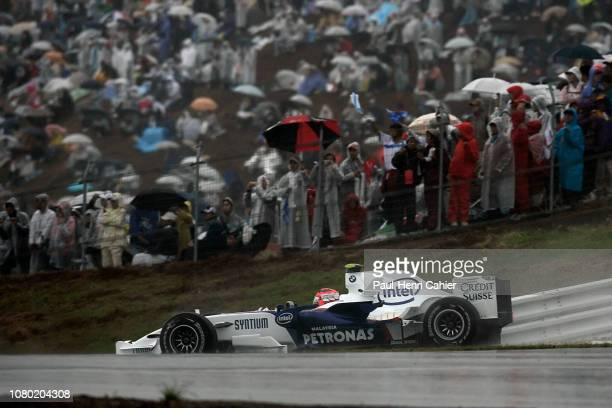 Robert Kubica, BMW Sauber F1 07, Grand Prix of Japan, Fuji Speedway, 30 September 2007.