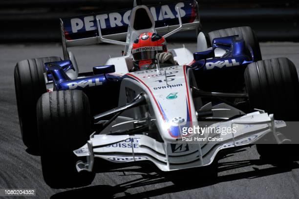 Robert Kubica, BMW Sauber F1 07, Grand Prix of Monaco, Circuit de Monaco, 27 May 2007.