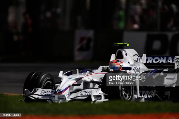 Robert Kubica BMW Sauber F1 08 Grand Prix of Australia Albert Park Melbourne Grand Prix Circuit 16 March 2008