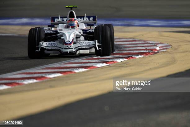 Robert Kubica, BMW Sauber F1 08, Grand Prix of Bahrain, Bahrain International Circuit, 06 April 2008. Robert Kubica on the way to third place and a...